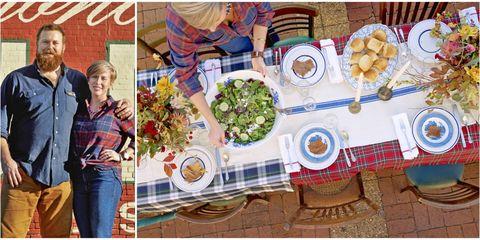 Plaid, Meal, Tartan, Textile, Design, Tablecloth, Brunch, Table, Pattern, Dish,