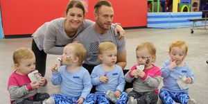 """Busby family from TLC's """"Outdaughtered."""""""