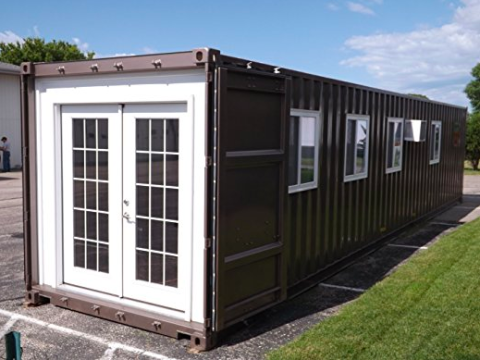 Amazon shipping container