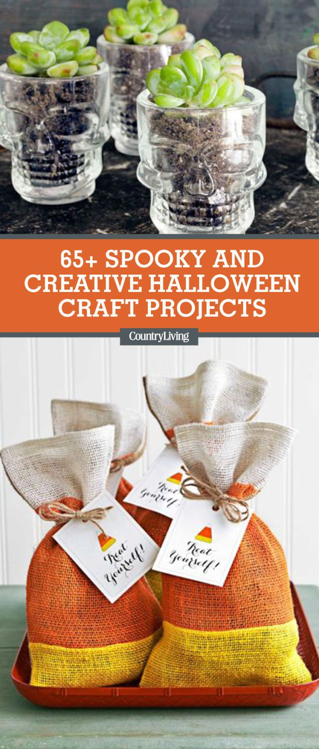 66 Easy Halloween Craft Ideas - Halloween DIY Craft ...