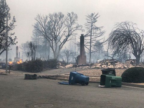 Horrifying Photos Of The Deadly Wildfire In Northern