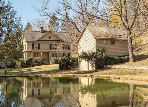 Home, House, Property, Reflection, Waterway, Building, Real estate, Tree, Cottage, Siding,