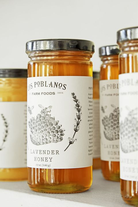 Mason jar, Honey, Food, Ingredient, Honeybee, Fruit preserve, Label, Cuisine, Preserved food, Orange,