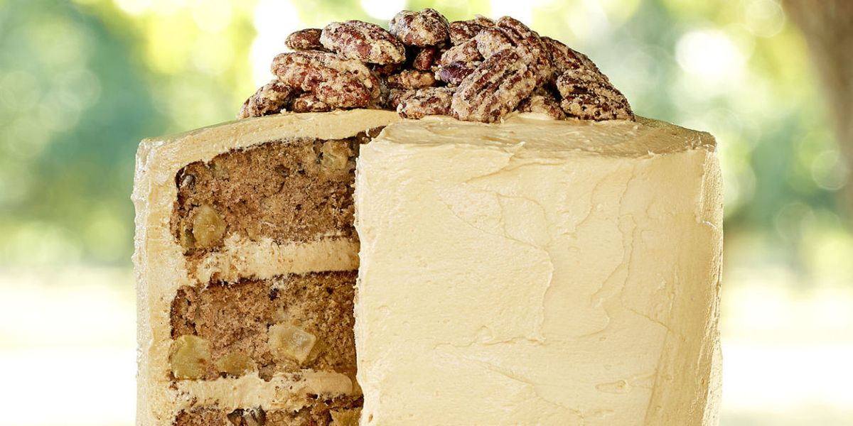 Best Apple Cinnamon Layer Cake With Salted Caramel