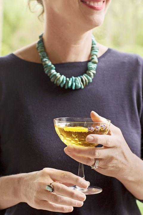 sparkling lavender cocktail recipe