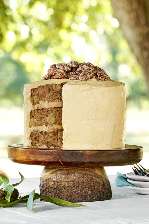 Apple-Cinnamon Layer Cake with Salted Caramel Frosting recipe