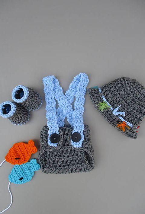 Crochet, Blue, Woolen, Wool, Glove, Knitting, Textile, Art, Craft, Thread,