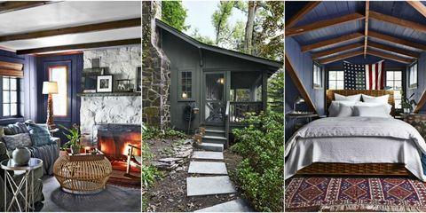 Home, House, Property, Building, Backyard, Room, Cottage, Real estate, Yard, Interior design,