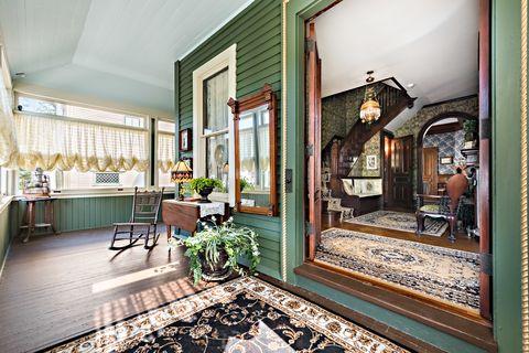 Room, Interior design, Building, Property, Green, House, Furniture, Home, Real estate, Floor,