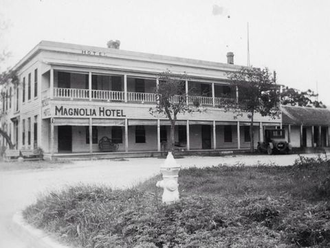 The Magnolia Hotel In 1920