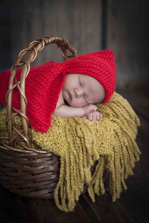 Child, Baby, Yellow, Wicker, Wool, Headgear, Photography, Toddler,