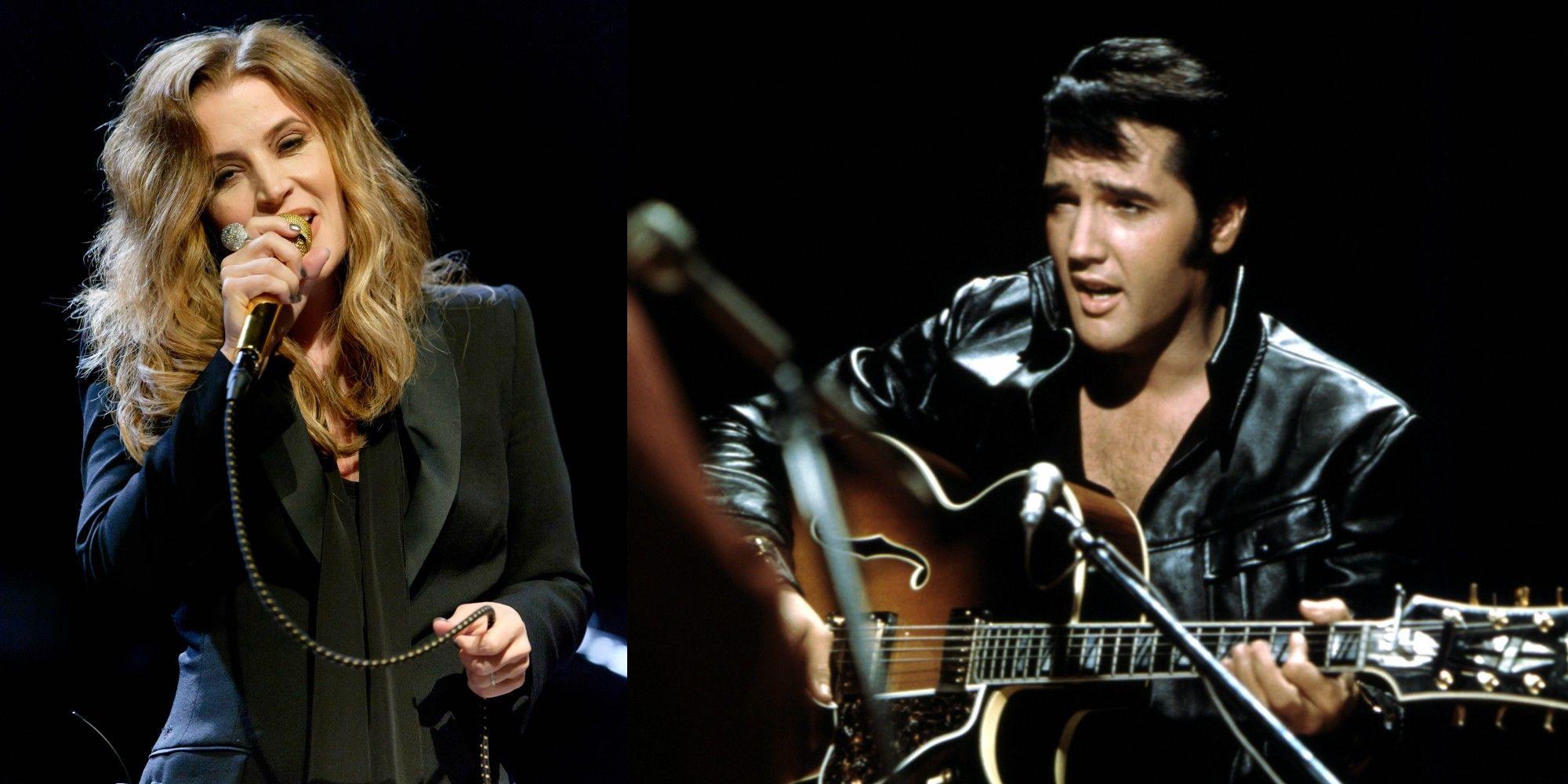 Elvis and Lisa Marie Presley Singing \