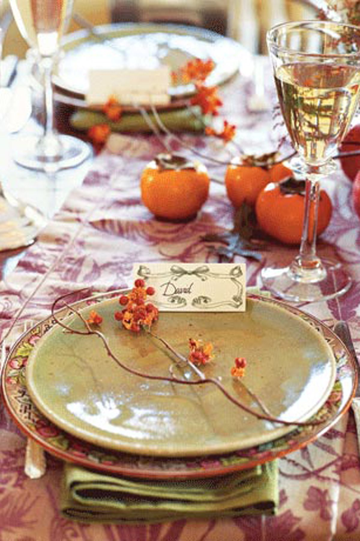 40+ Thanksgiving Table Settings - Thanksgiving Tablescapes \u0026 Decoration Ideas : setting a table for thanksgiving - pezcame.com