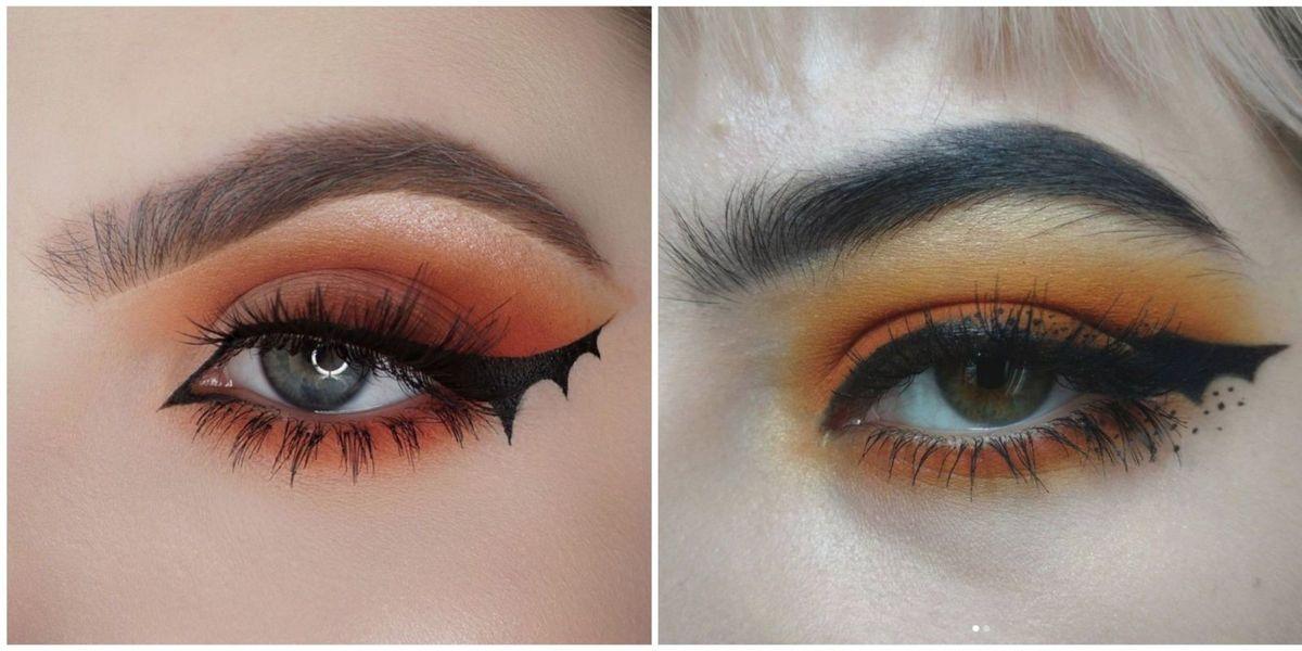 Bat Makeup Halloween Costume.Bat Eyeliner Is Here Just In Time For Halloween Batliner Halloween Makeup Tutorial