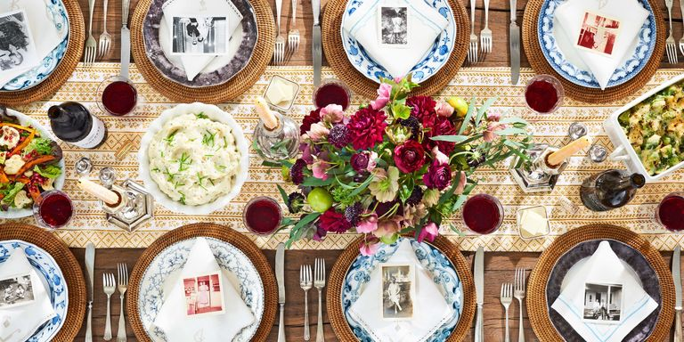 Easy Thanksgiving Table Setting