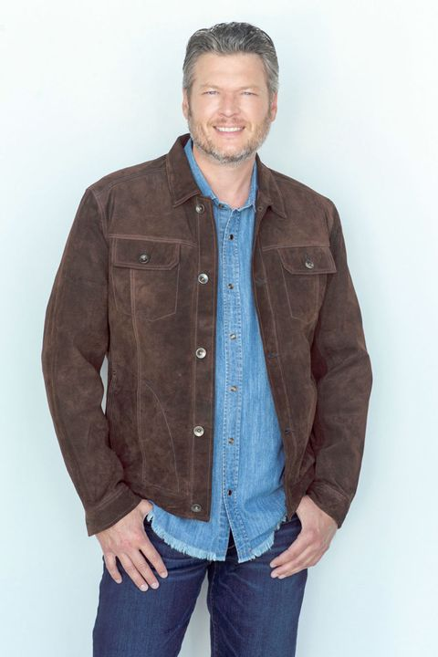 Clothing, Blue, Denim, Jacket, Jeans, Outerwear, Brown, Standing, Sleeve, Pocket,