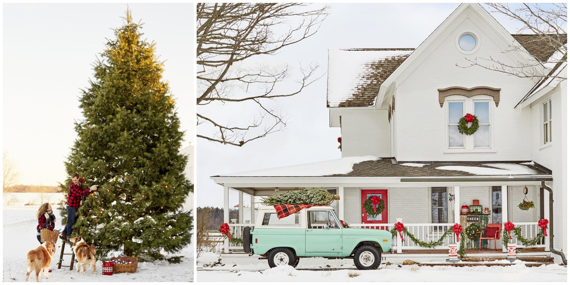 This Festive Midwest Country Home Is Packed with Cute Christmas ...
