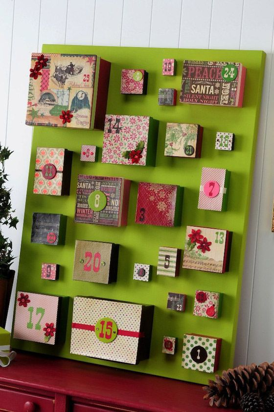 33 diy advent calendar ideas homemade christmas advent calendars solutioingenieria Images