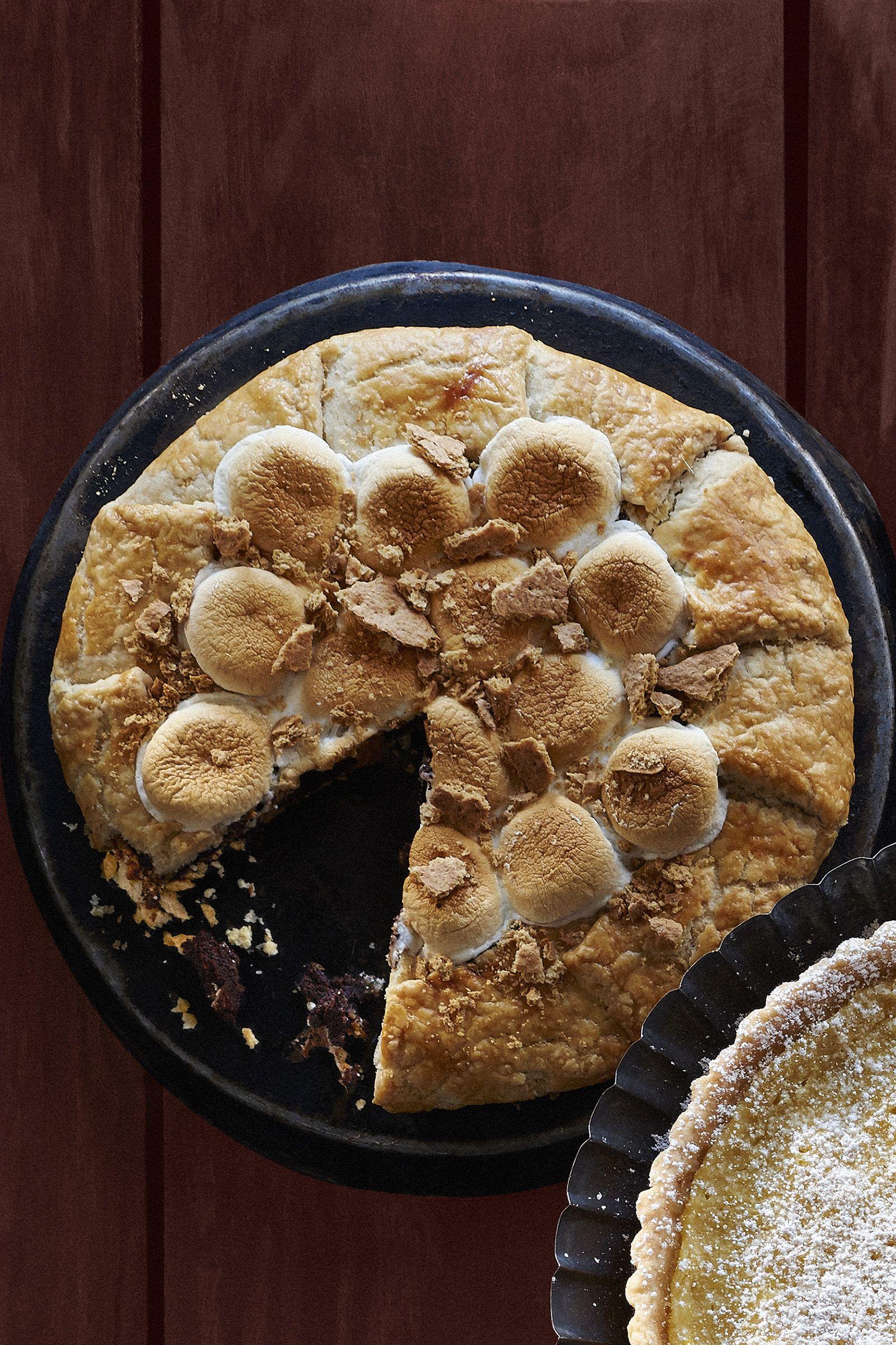 how to make a s mores pie