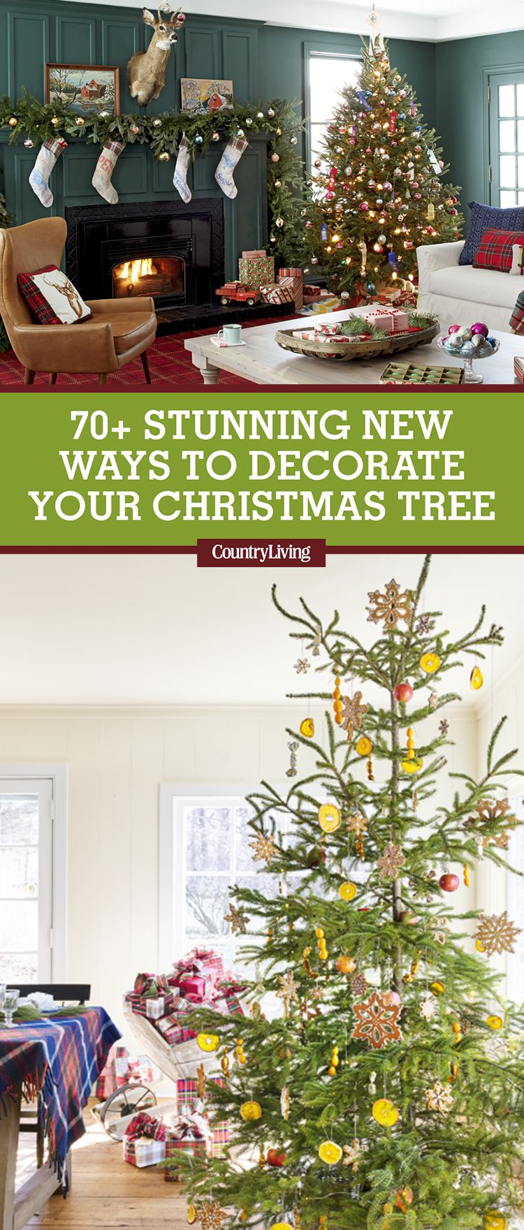 60 Best Christmas Tree Decorating Ideas
