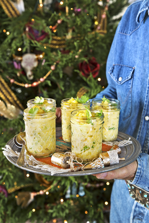 buttermilk and hatch chile grits recipe