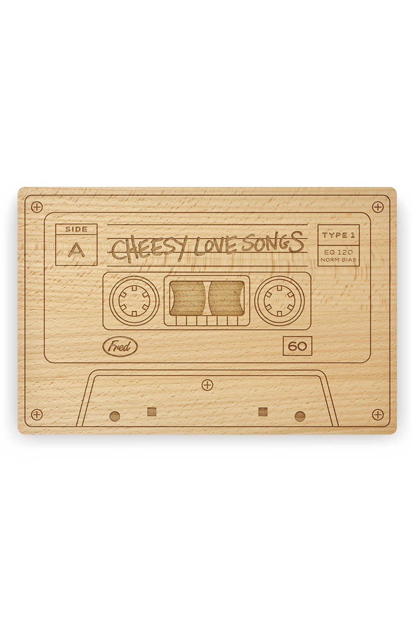 mix tape cheese board