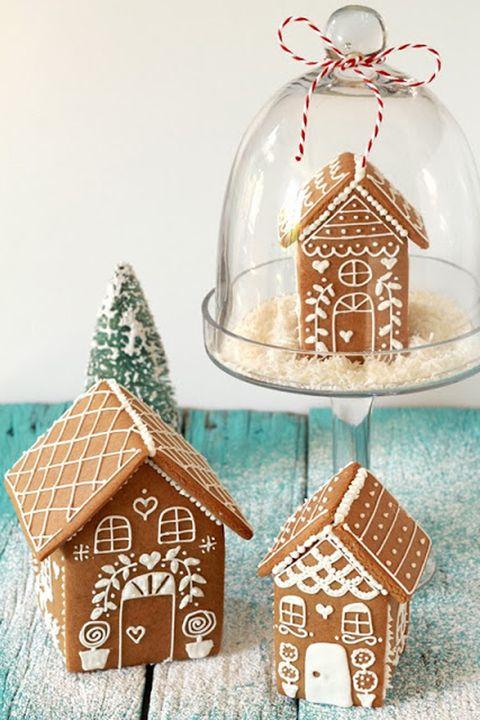 Snow Globe Gingerbread House Recipe