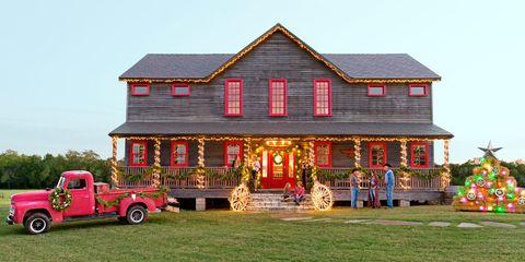 Winter Wonderland Farmhouse Christmas House Tour
