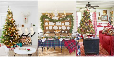 get inspired to fill your home with holiday cheer by browsing through our favorite homes decorated for christmas plus check out our favorite houses in - Pictures Of Homes Decorated For Christmas On The Inside