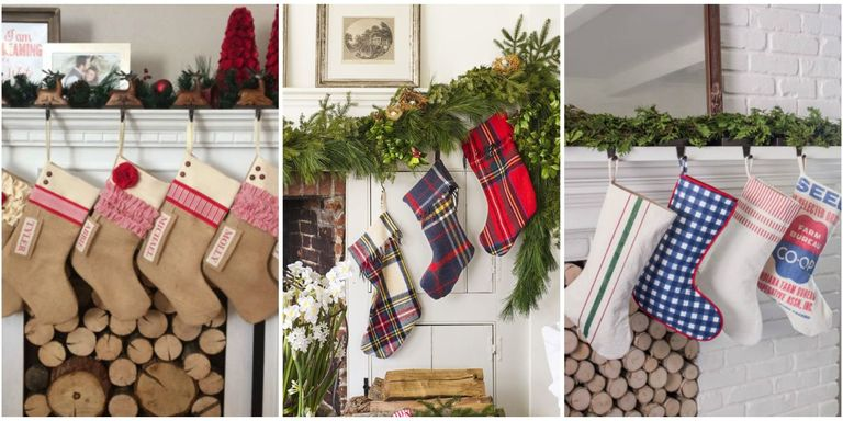 make sure santa knows which stocking is yours by decking the halls and mantels with these personalized stockings which you can either buy or make - Christmas Stocking Design Ideas