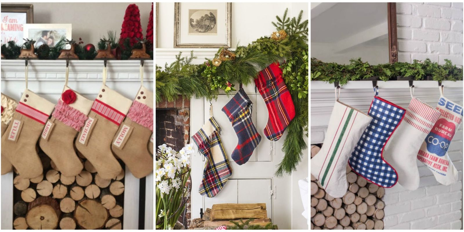 Awesome Make Sure Santa Knows Which Stocking Is Yours By Decking The Halls (and  Mantels!) With These Personalized Stockings, Which You Can Either Buy Or  Make ...