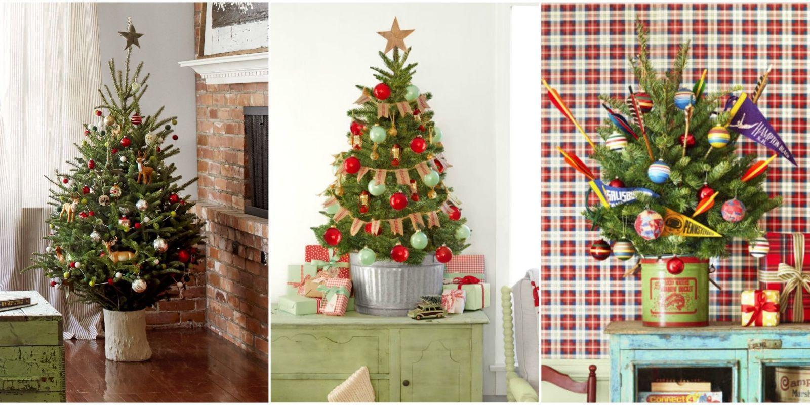 tiny christmas tree & 18 Best Small Christmas Trees - Ideas for Decorating Mini Christmas ...