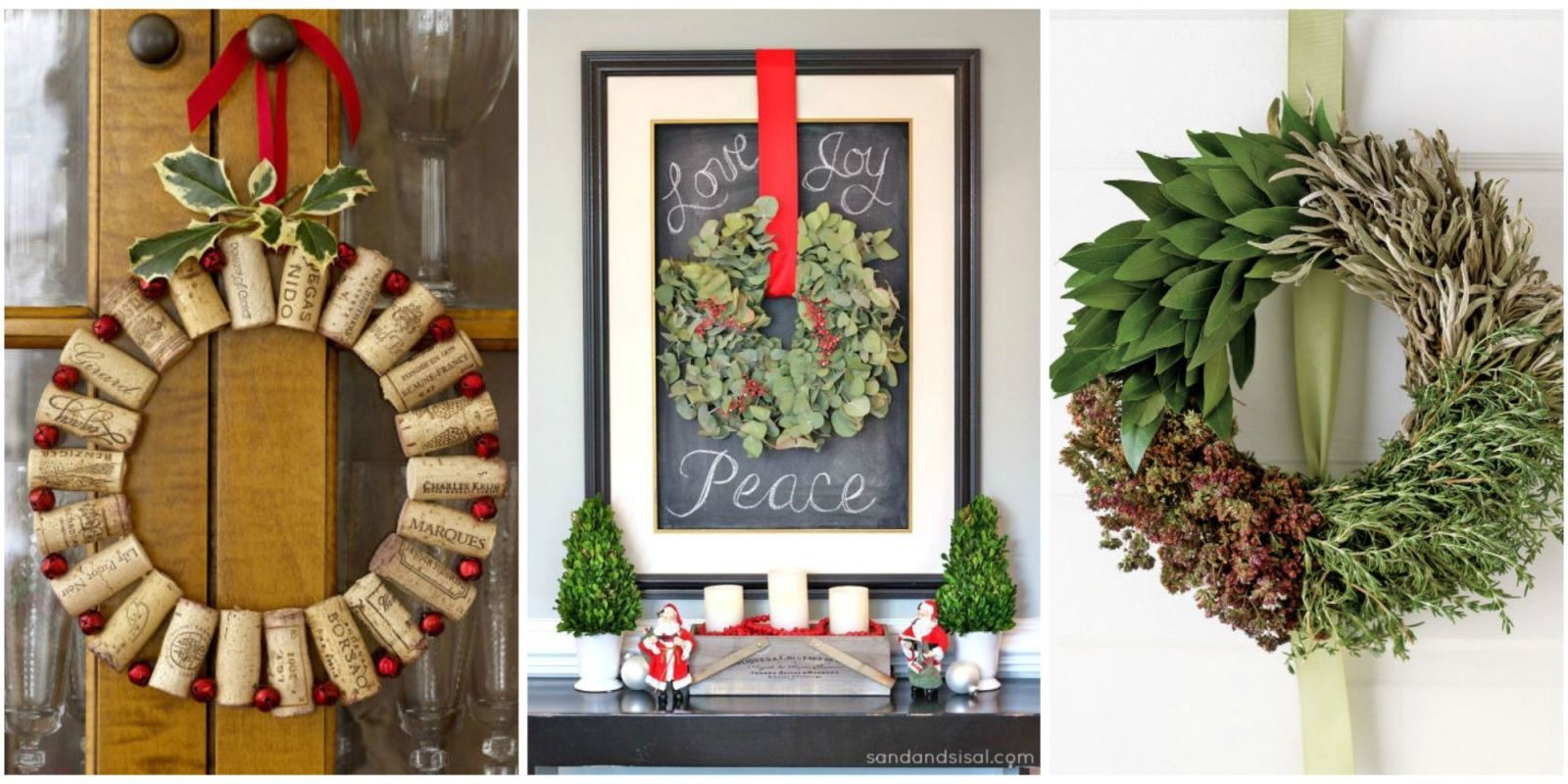 Deck your door and more in Christmas cheer. & 50+ DIY Christmas Wreath Ideas - How To Make Holiday Wreaths Crafts
