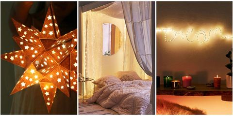 ways to decorate your entire home with fairy lights