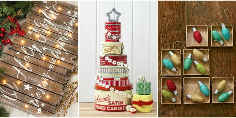 30 easy christmas crafts for adults to make diy ideas for Christmas ornament craft ideas adults