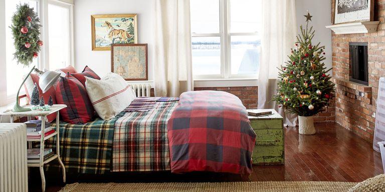 surprising christmas bedroom decorations ideas | Christmas Bedroom Decorating Ideas - Farmhouse Christmas ...