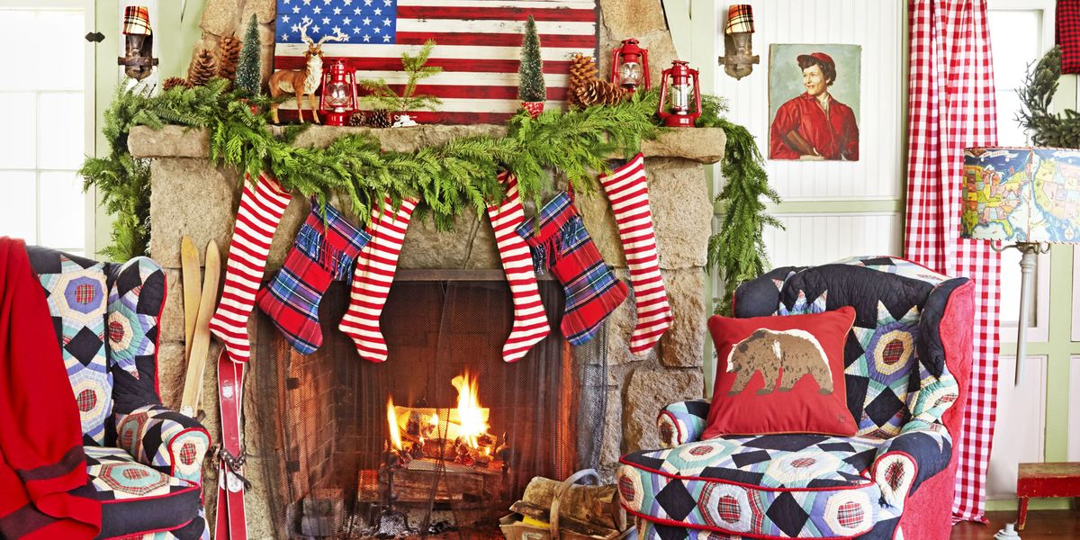 100 country christmas decorations holiday decorating ideas 2017. Black Bedroom Furniture Sets. Home Design Ideas