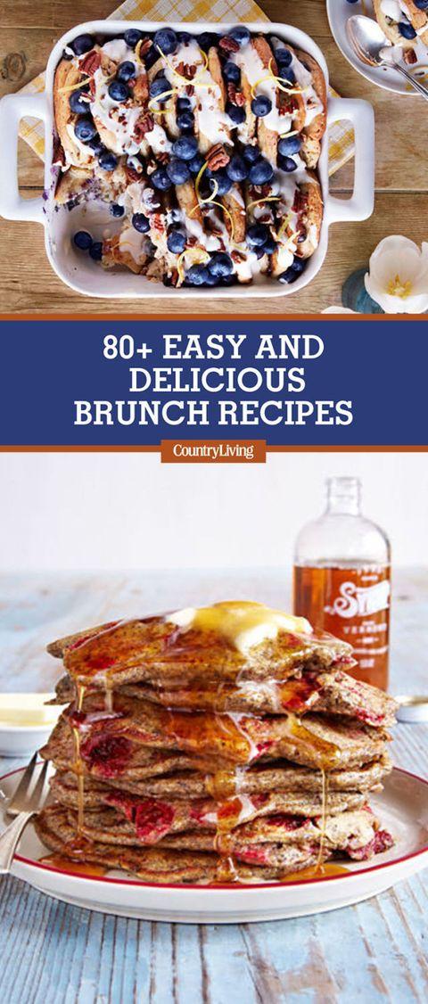 80 easy brunch recipes best brunch menu ideas country living