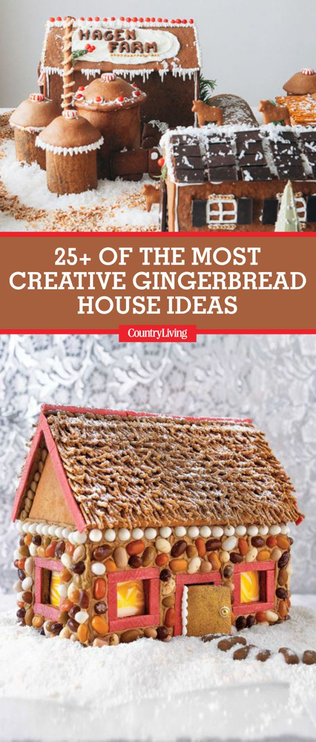 gingerbread house ideas & 25 Cute Gingerbread House Ideas u0026 Pictures - How to Make a ...