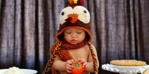 Child, Toddler, Orange, Crochet, Beanie, Baby, Headgear, Knit cap, Cap, Thanksgiving,
