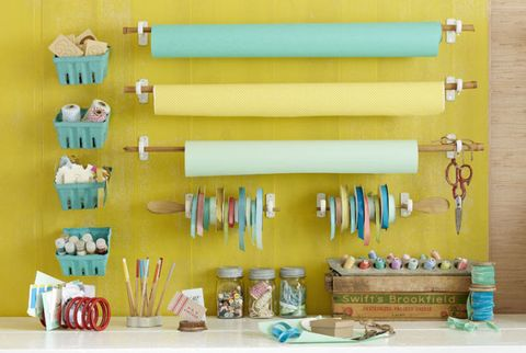Yellow, Turquoise, Shelf, Aqua, Room, Furniture, Table, Interior design,