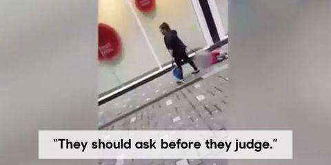 Story Behind Woman Dragging Son Video