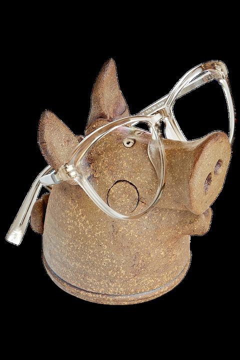 gifts for mom pig glasses holder