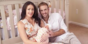 Jamie Otis and Doug Hehner with Henley Grace