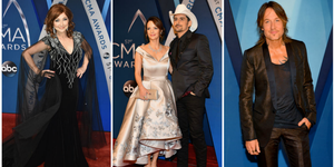 cma awards red carpet looks