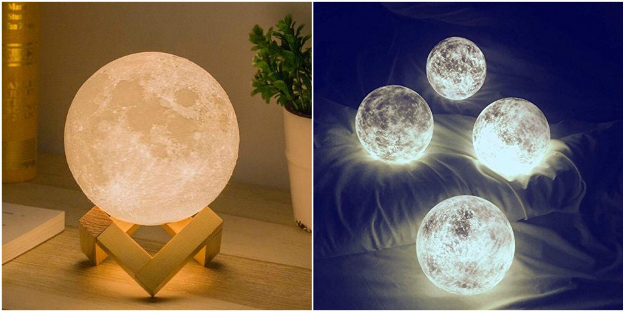 Lamps that look like the moon luna moon lights arubaitofo Image collections