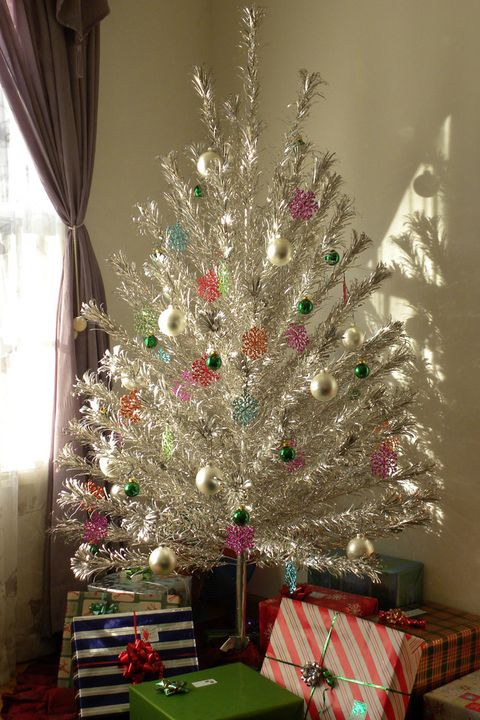 vintage aluminum christmas tree - Vintage Christmas Decorations