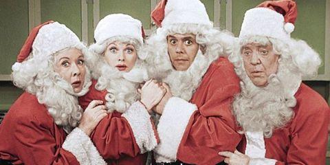People, Santa claus, Christmas eve, Christmas, Grandparent, Elder, Event, Fictional character,