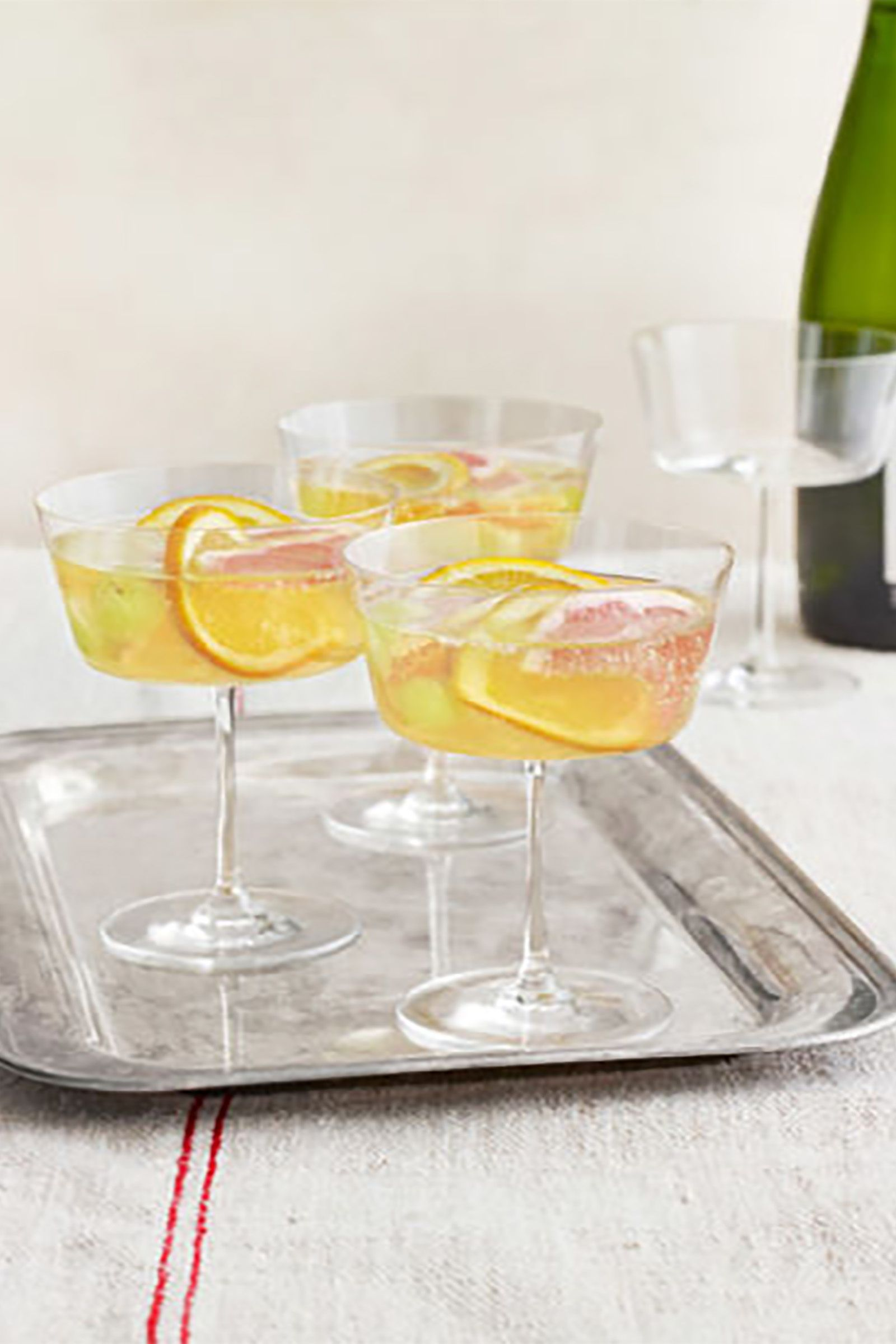 sparkling winter sangria recipe