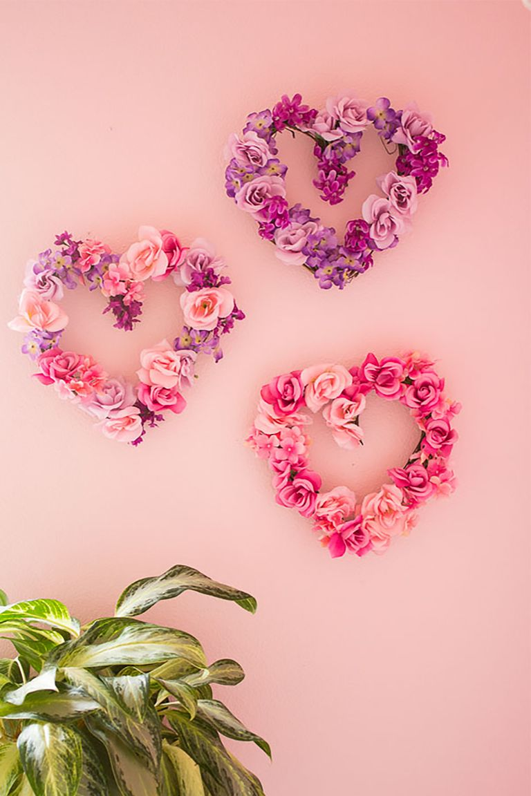 18 Sweet And Simple Diy Valentine S Day Decorations